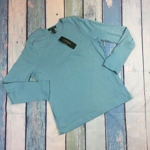 NEW Ralph Lauren Women's Blue Long Sleeve Top XL